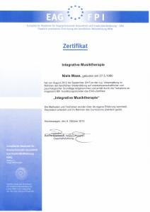 Zertifikat IMT